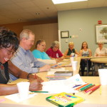 Cancer patients process emotions through art therapy