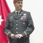 Parker promoted to Lt. colonel